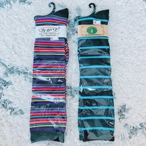 NEW Two Pairs of High Socks